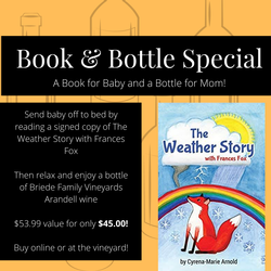 The Weather Story & Arandell wine